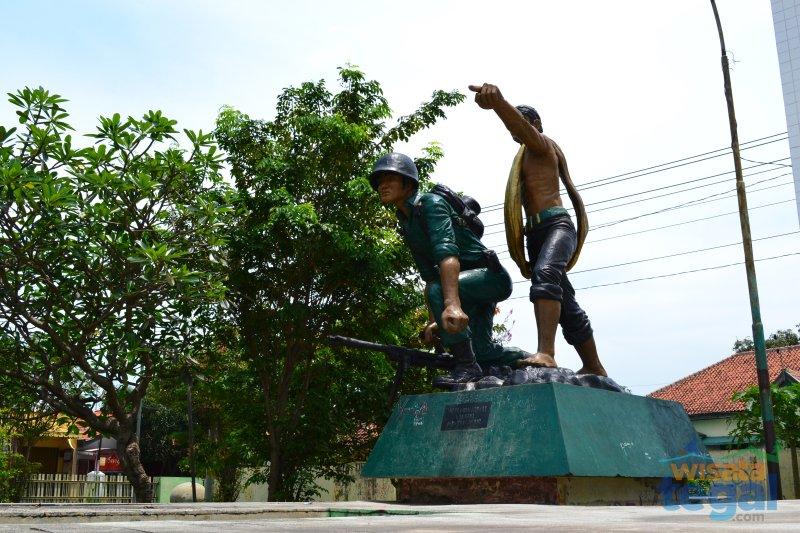 Patung GBN Slawi, kabupaten Tegal
