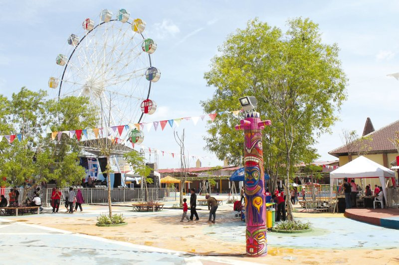 Rita Park Tegal Hadirkan Beragam Wahana Menarik