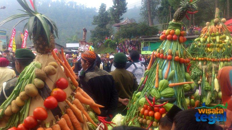 Ruwat Bumi, Guci, Kabupaten Tegal